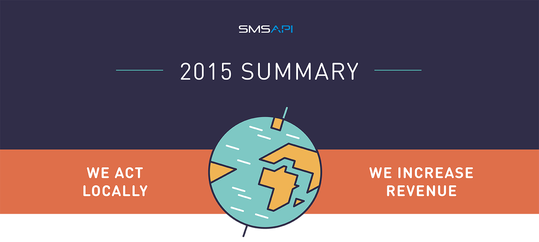 2015 SMSAPI - summary of the year