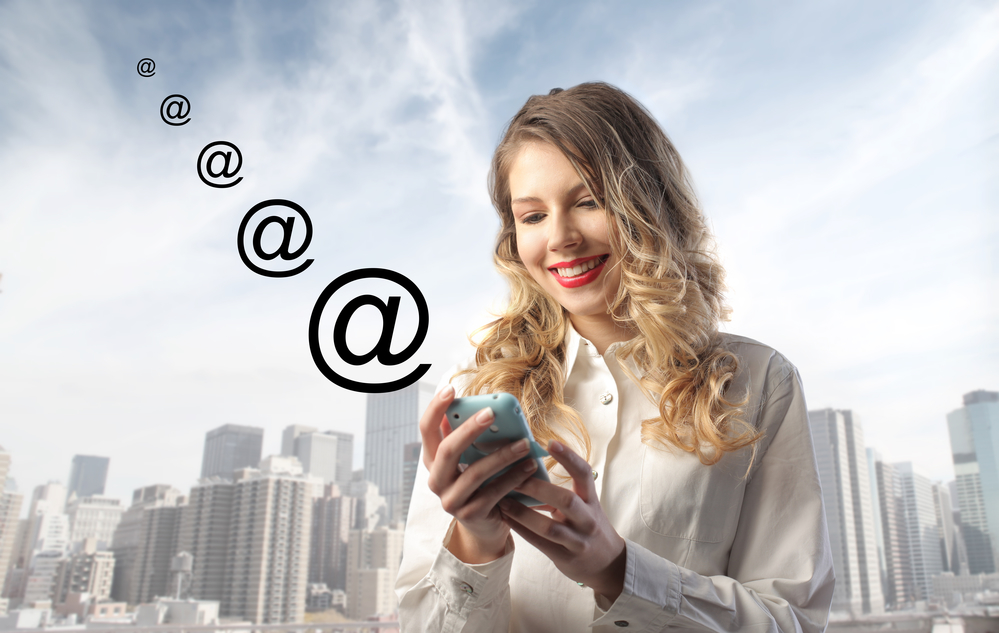 E-mail Booster feature SMS notifications