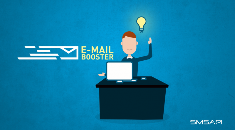 E-mail Booster feature