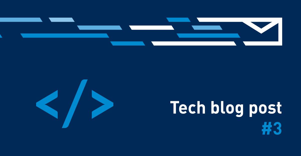 Tech blog post #03