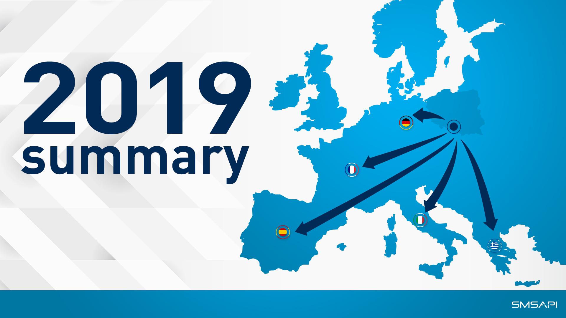 SMSAPI 2019 Summary
