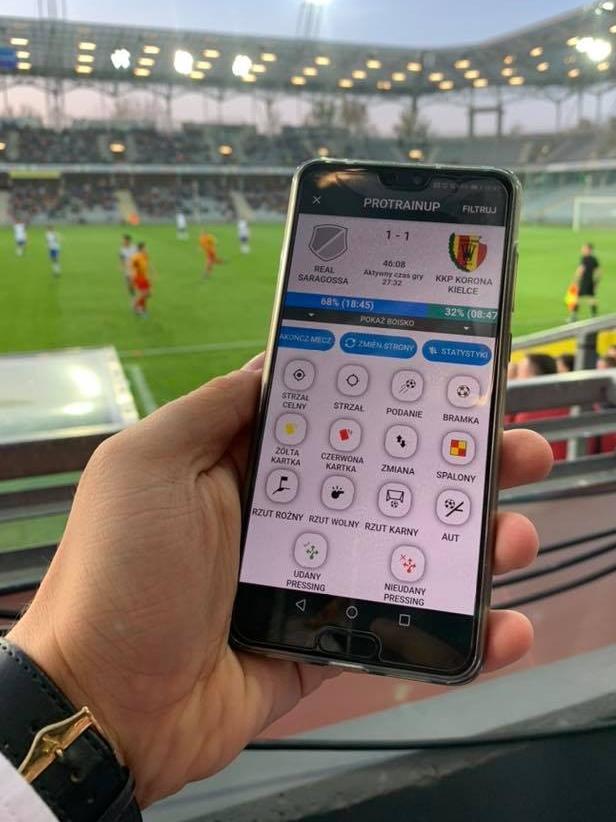 SMSAPI ProTrainUp Sport SMS App