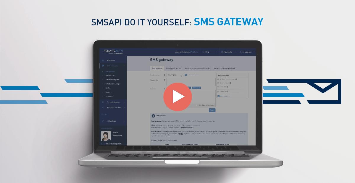 SMSAPI Do It Yourself SMS Gateway