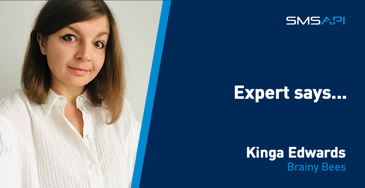 Expert says Kinga Edwards Brainy Bees Customer Experience