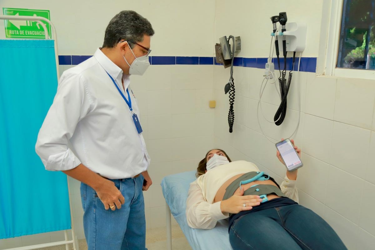 Carebits CTG test in Colombia